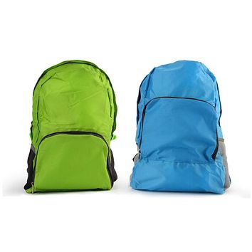 Portable Zippered Nylon Sports Pack