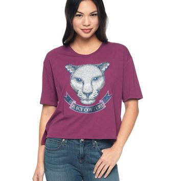 Embellished Animal Tee by Juicy Couture