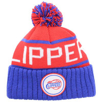Los Angeles Clippers NBA High 5 Cuffed Pom Knit