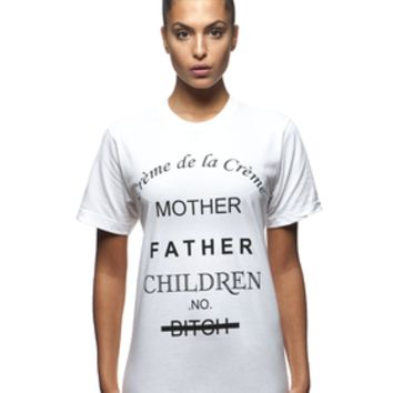 BBP - Blackboyplace: Family First White T-shirt
