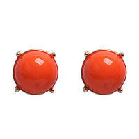 Fashion Bubble Earrings Candy Color Studs Jewelry Resin Earrings Chunky Fancy Earrings
