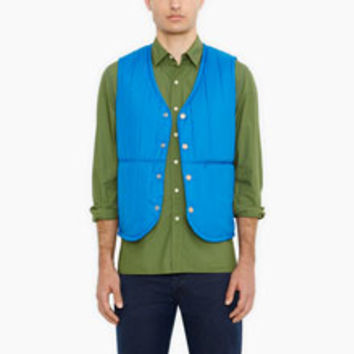 Levi's Commuter Blue Vests - Men's
