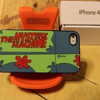 Scooby Doo / Mystery Machine Van / Fred / Velma / Apple Iphone 4 / 4s Case