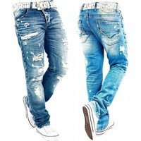 Mens  RedBridge By Cipo Baxx Herren  Destroyed Denim Pants