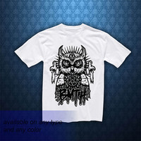 T shirt bring me the horizon owl version, Awesome T shirt, T shirt, T shirt Girl, T shirt Mens, Funny T shirt