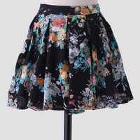 Endless Paradise Floral Skirt