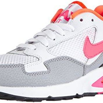 Nike Women's Air Max St Ankle-High Leather Running Shoe  white nike air