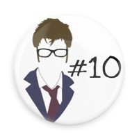 Doctor Who Tenth Doctor Silhouette
