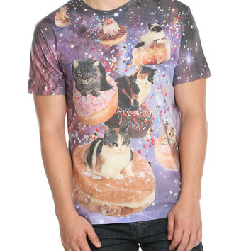 Space Cat Donuts T-Shirt