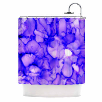"Claire Day ""Purple"" Lavender Shower Curtain"