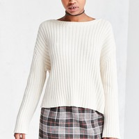 Silence   Noise Camila Vertical Rib Pullover Sweater