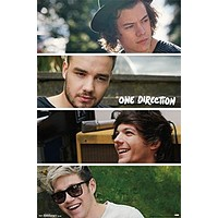 One Direction- Group Collage Poster 22 x 34in