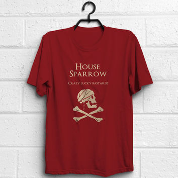 Pirates of the Caribbean, Game of thrones, Jack Sparrow quote shirt, adult women men unisex t-shirt, %100 cotton, Eco Friendly