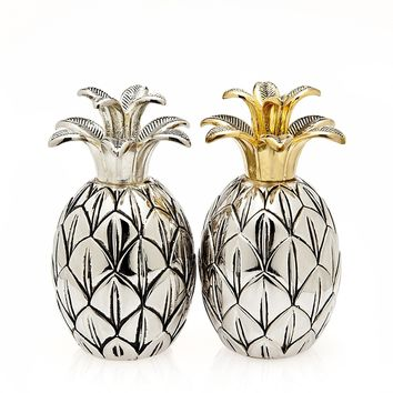 Pineapple Salt & Pepper Shaker SET