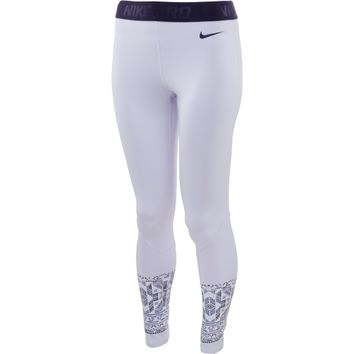 Nike Women's Pro Hyperwarm Mosaic Tights
