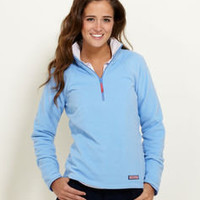 Women's Outerwear: Fleece Gondola 1/4-Zip for Women - Vineyard Vines