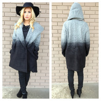 BB DAKOTA Joyce Grey Ombre Coat