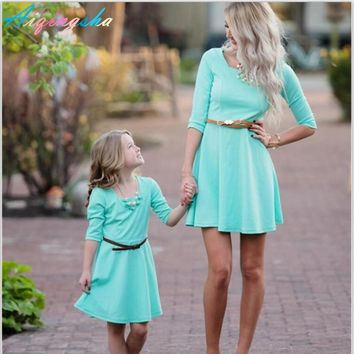 2017 Mommy and Me Mother Daughter Matching Dresses