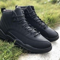 Air Jordan 12 Retro WNTR Basketball Shoe 40-47