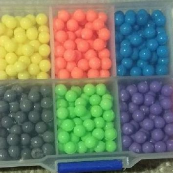 300pcs/bag Water Hama Beads toys Sticky Perler Beads Pegboard Fuse Beads jigsaw puzzle Water Beadbond Educational DIY toys