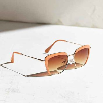 Layered Metal Frame Sunglasses