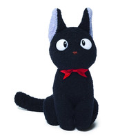 Gund Kikis Delivery Service Jiji the Black Cat 6 in. Stuffed Animal Plush Toy