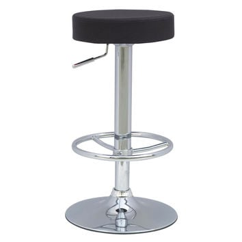 Ex Adjustable Barstool, Black