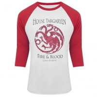 Game of Thrones House Targaryen Raglan T-Shirt