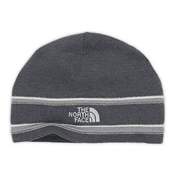 DCCKIJG The North Face Unisex The North Face? Logo Beanie Vanadis Grey/Monument Grey Hat One S