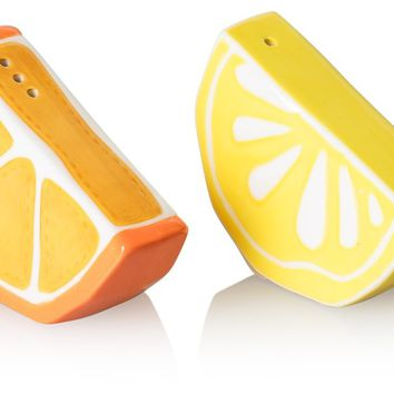 Citrus Salt & Pepper Shakers - All - Oliver Bonas