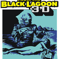 Creature From the Black lagoon by OBEY ZOMBIE