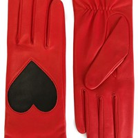 Christopher Kane Love Heart Applique Gloves - Penelope - Farfetch.com