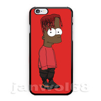 New Lil Yachty Bart Simpson For iPhone 6 6s 6+ 6s+ 7 Print On Hard Case