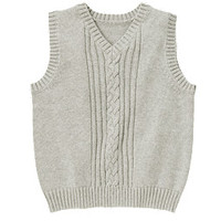 Uniform Cable Sweater Vest