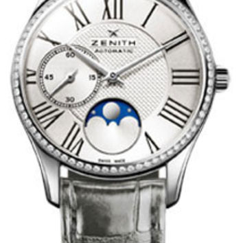 Zenith - Elite Lady Ultra Thin Moonphase Stainless Steel # 16.2310.692/02.C706