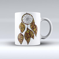 The Vector Dreamcatcher ink-Fuzed Ceramic Coffee Mug