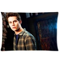 "Custom Rectangle Pillowcase Covers Standard Size 20""x30"" ( One Side ) Teen Wolf Actor Dylan O¡¯Brien Design for Pillowcase"