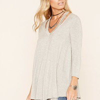 Cutout Collar Top