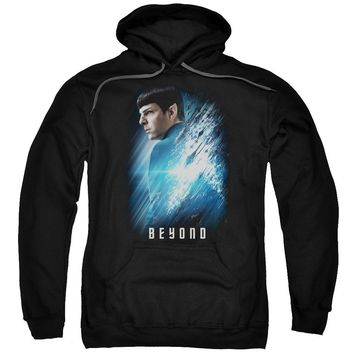 Star Trek Beyond - Spock Poster Adult Pull Over Hoodie Officially Licensed Apparel
