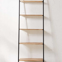 Fulton Leaning Bookshelf   Urban Outfitters