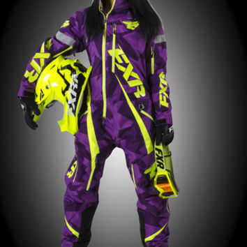 Maverick Monosuit (INSULATED) - Motocross Gear, Snowmobile Apparel, Racing Jackets - FXR Racing