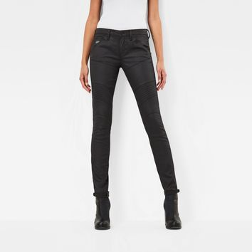 5620 Custom Mid Skinny Jeans | Rinsed | Women | G-Star RAW®