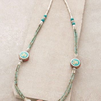 Turquoise Om Wrap