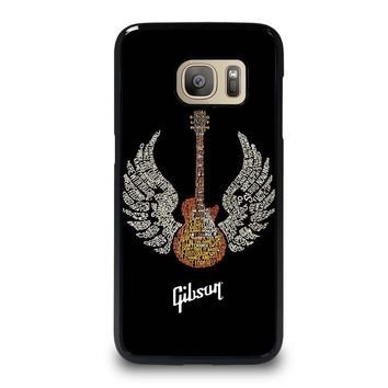 GIBSON GUITAR ART Samsung Galaxy S7 Case Cover