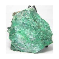 Green Chrysocolla in Quartz Mineral Specimen Lapidary Cutting Rough