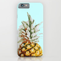 Summer Ananas iPhone & iPod Case by Cafelab