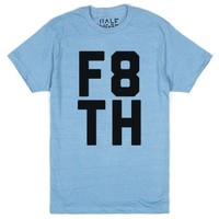 Heather Lake Blue T-Shirt | Fun Christian Shirts
