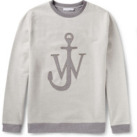 J.W.Anderson - Loopback Cotton-Blend Sweatshirt | MR PORTER