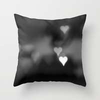 A Heart for You Throw Pillow by Melissa Lund