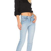 RE/DONE Levis High Rise in Indigo | REVOLVE